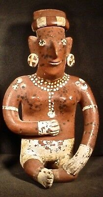 Pre-Columbian Jalisco Sheepface Figure Ex Sotheby's '79