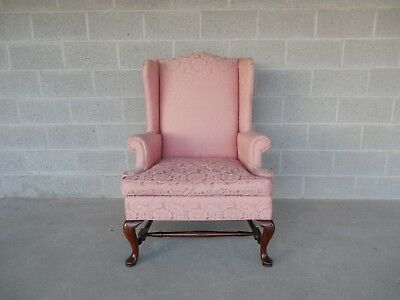 Hickory Chair Wingback Arm Chair