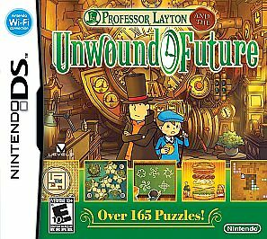 Professor Layton and the Unwound Future (Nintendo DS, 2010) NEW SEALED