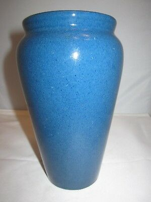 antique Peters & Reed pottery vase Wilse Blue glaze  arts & crafts mission