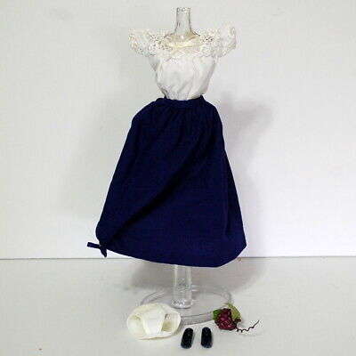Barbie I Love Lucy Italian Movie Outfit Fashion Top Skirt Shoes Grapes Doll
