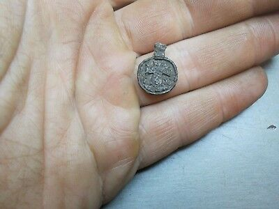 Medieval Cross pendant Ancient find Metal detector finds №108A 100% original