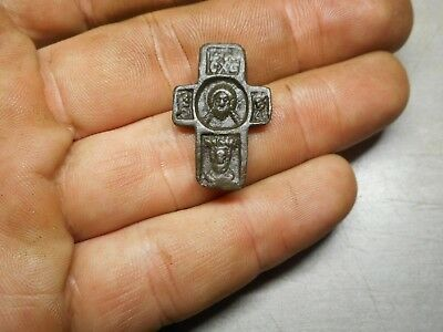 Medieval cross - icon  Ancient find Metal detector finds №55A 100% original