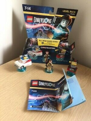 Lego Dimensions Ghostbusters Level Pack 71228 with box and instructions