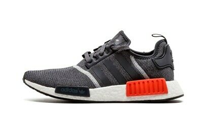 e632d2b063842 BRAND NEW ADIDAS NMD R1 S31510 US4.5 Dark Grey Reflective CGREY CWHITE  S31510
