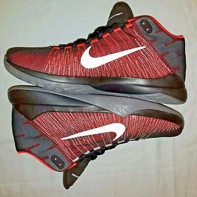 finest selection 58bf7 d79c0 Nike Zoom Ascention Basketball Shoes Crimson Black - Men s Size 13  (832234-003