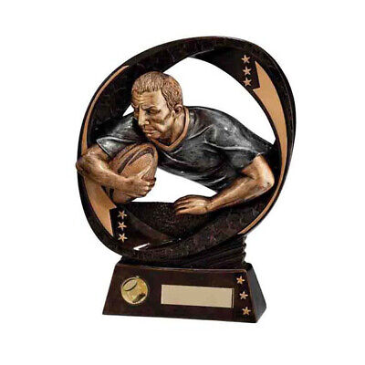 Typhoon Rugby Trophy Award 190mm FREE Engraving
