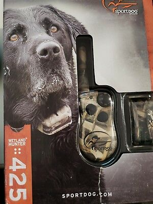 USED!!! SportDOG SD-425 CAMO WetlandHunter 425 Camouflage Remote Training Shock