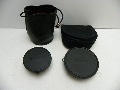Sony Wide End Conversion Lens VCL MHG07 & Sony VCL-1452H x1.4 Tele Conversion