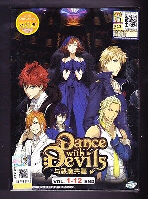 *New* Dance With Devils *12 Episodes*English Subtitles*Us Seller*Anime Dvd*