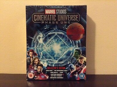Marvel Studios Cinematic Universe Phase 1 - Collector's Edition (Blu-ray) *NEW*