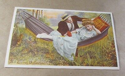 Old Postcard-[Early 1900]<Greeting Postcard.>{TO MY VALENTINE}