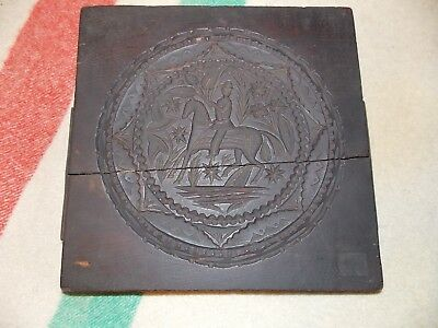 Mid 19th Century Hand Carved Cake Board By James Y. Watkins, NY
