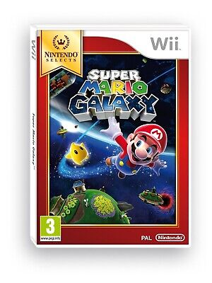 Juego Wii Super Mario Galaxy Selects Wii 4556505