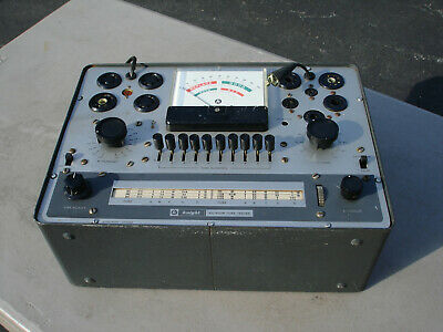 Vintage Allied Radio  Knight KG-600B  Tube Tester  Serviced Working