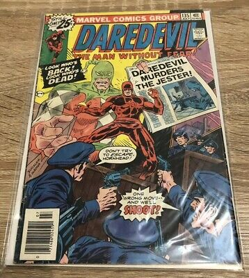 Daredevil 135 Marvel Comics Bronze Age Fine Condition 1976