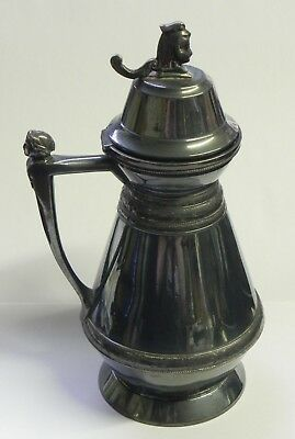 Pitcher Antique Wilcox Silver Plated Syrup Pitcher Small Jug 1865