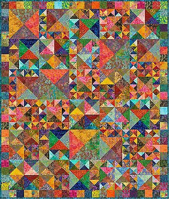 """ULUWATU - 79"""" x 67"""" - Pre-cut Quilt Kit by Quilt-Addicts Twin Single size"""