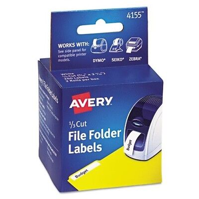 Avery-Dennison Thermal Printer Labels 130 Roll Compatible with Seiko Zebra DYMO