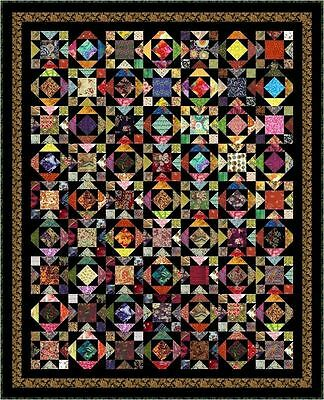 """WATUSI - 85"""" x 69"""" - Pre-cut Quilt Kit by Quilt-Addicts King Single size"""