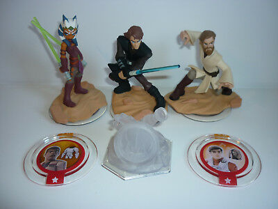 Disney Infinity Star Wars Bundle - Figures, Playset, Power Discs -  Free Uk P&P