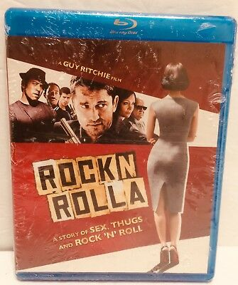 Guy Ritchie's ROCKnROLLA (2008) Blu-ray See Note Brand New With Cut in UPC Area