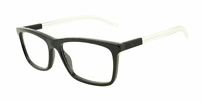 6491399cbce9 New Christian Dior Homme Eyeglasses Black Tie 215 Lmx 56 Blue Havana Crystal