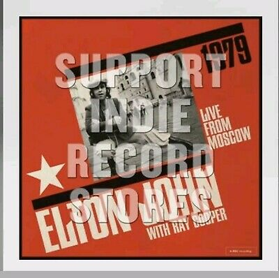 Elton John Live at Moscow 2x LP Record Store Day RSD 2019 PRESALE