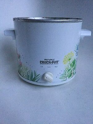Rival Crock Pot Slow Cooker 3150 Replacement Base ONLY Heating Unit Electric