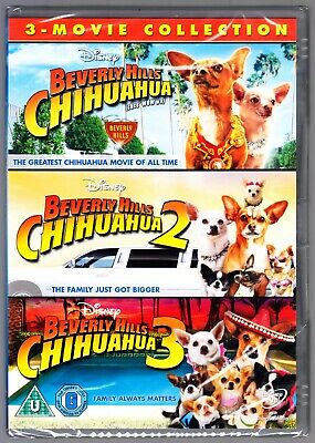 Beverly Hills Chihuahua 1+2+3  Trilogy  Dvd  Region 4