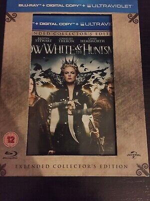 Snow White And The Huntsman, Blu Ray, Extended Collector's Edition, Postcards