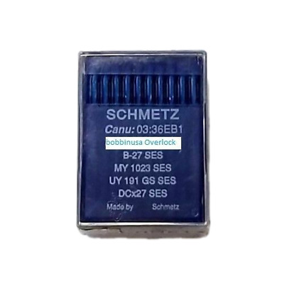 Overlock Needle B-27 DCx27 Schmetz Industrial Sewing Machine 100Pcs
