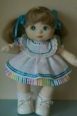 My Child Doll Dress & Pinny Set - Dress - Pinny - Panties - Ribbons (No Doll)