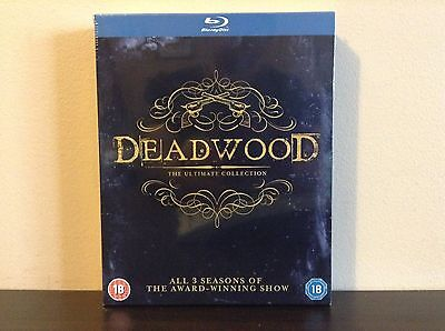 Deadwood - The Complete Collection [Blu-ray] *NEW*
