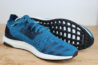 new arrivals 32732 4d409 ADIDAS ULTRABOOST UNCAGED Mystery Petrol Night Blue Running BY2555 Men Size  10.5