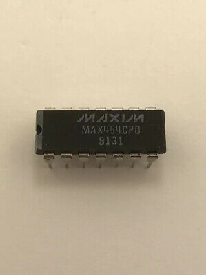 MAX454CPD Video Amplifiers 50MHz Video Amplifier and Mux Amps