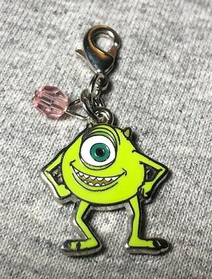 Disney Parks Charmed In The Park- Monsters Inc. Mike Charm
