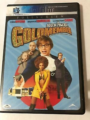 Austin Powers in Goldmember (DVD, 2002, Full Screen  Infinifilm  Mike Myers