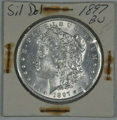 1897 Morgan Silver Dollar - BU
