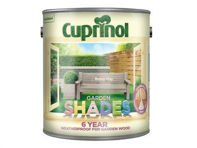 Cuprinol CUPGSMC25L Garden Shades Muted Clay 2.5 Litre