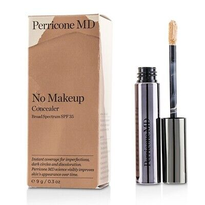 NEW PERRICONE MD NO MAKEUP CONCEALER BROAD SPECTRUM MEDIUM 9g SPF35