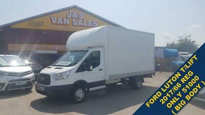 2017 66 Ford Transit Luton + Tailift T350 ( Big Body Only 51000 Mls ) Diesel