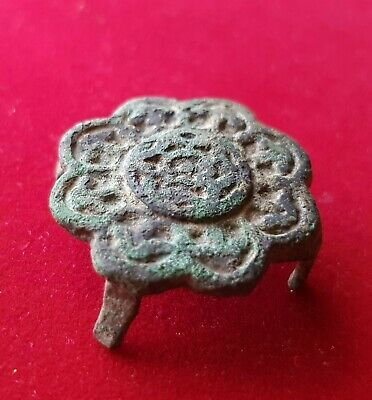 Ancient VIKING SHIELD DECORATION -  beautiful . circa 800 AD.