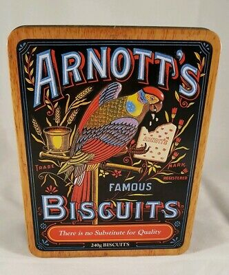 Arnott's Collectable Biscuit Tin from 2010 - 240gm Small Size Tin