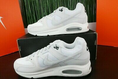 finest selection 4f2bb 04c12 Nike Air Max Command Summit White Platinum Leather Men 629993-102 Size 9