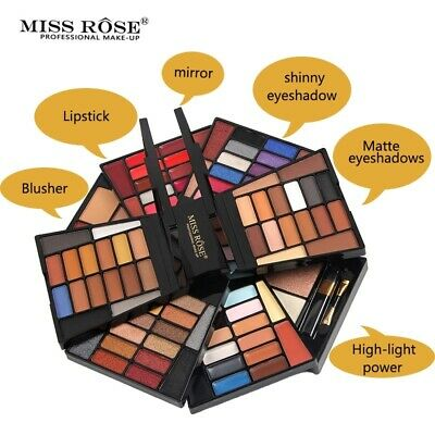 104 Colors Eyeshadow Palette Lipstick Concealer Powder  Multifunction Makeup Set