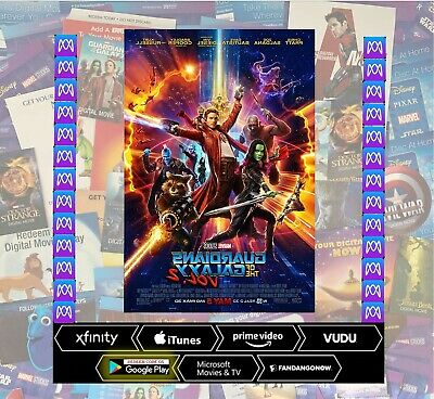 Guardians of the Galaxy Vol 2 HD DigitalCode (REDEEM IN MOVIES ANYWHERE)