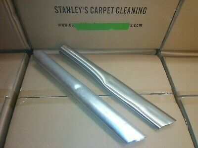 "ALUMINIUM AND STAINLESS  CREVICE  vacuum tool 15"" car wash detail 1 1/2 inch od"