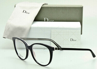 CHRISTIAN DIOR RX Frame Montaigne No.16 NH1 Purple over Pink-Black Crystal 50mm