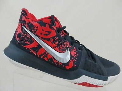 detailed look 61856 c42ca NIKE KYRIE 3 III Samurai Christmas Blue/Red Sz 12 Men Basketball Shoes